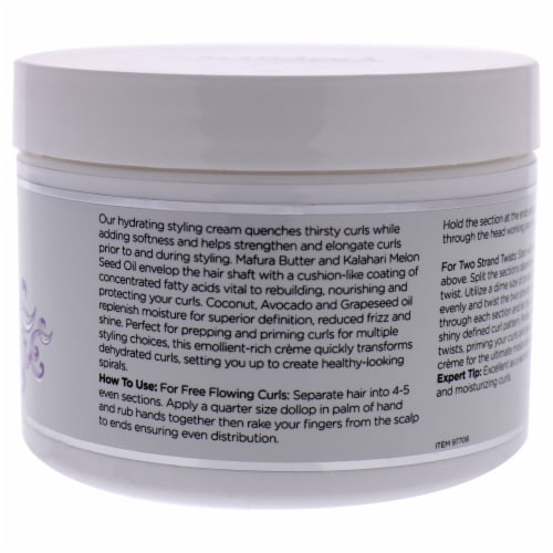 Curl Immersion Silky Souffle Setting Creme by Ouidad for Unisex - 8 oz Cream Perspective: back