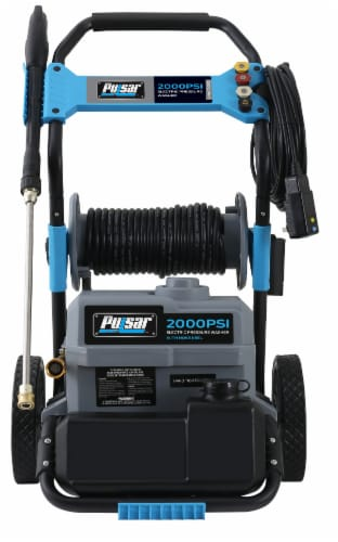 Pulsar Electric Pressure Washer with Hose Reel Perspective: back