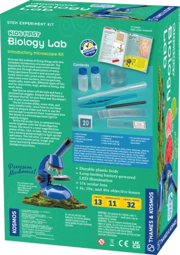 Thames & Kosmos Kids First Biology Lab Kit Perspective: back
