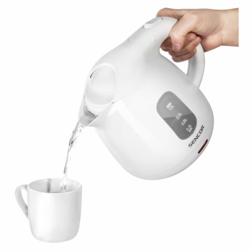Sencor Small Electric Kettle - White Perspective: back