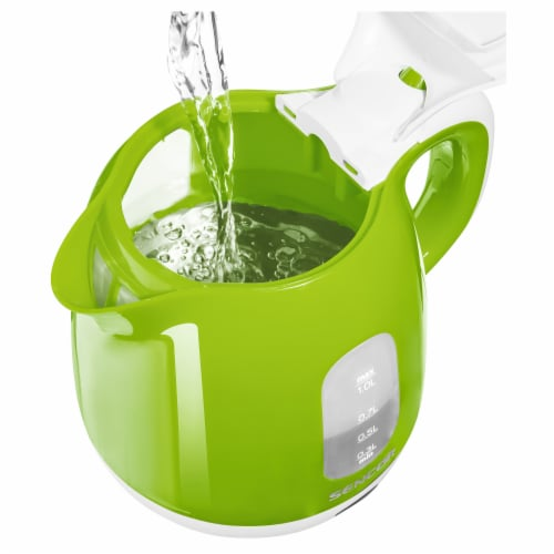 Sencor Small Electric Kettle - Green/White Perspective: back