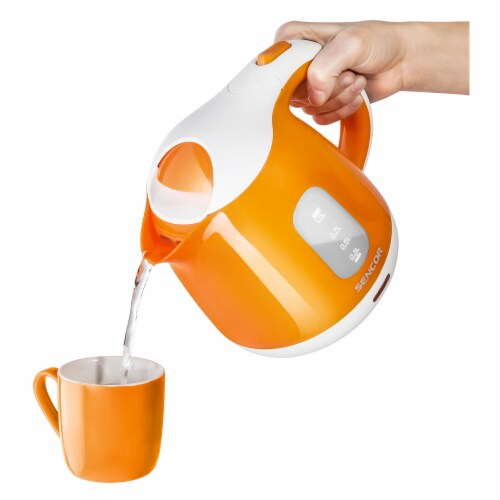 Sencor Small Electric Kettle - Orange Perspective: back