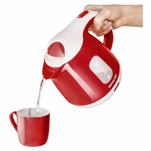 Sencor Small Electric Kettle - Red Perspective: back