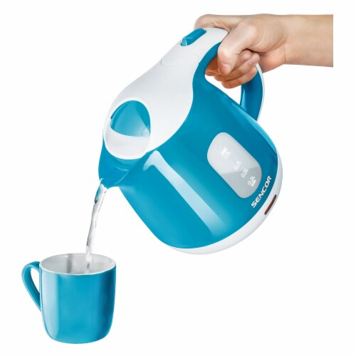 Sencor Small Electric Kettle - Turquoise Perspective: back