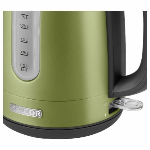 Sencor Stainless Electric Kettle - Light Green Perspective: back