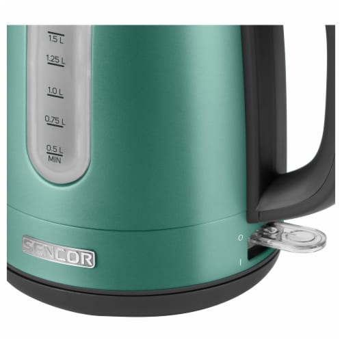 Sencor Stainless Electric Kettle - Green Perspective: back