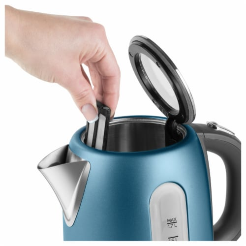 Sencor Stainless Electric Kettle - Blue Perspective: back