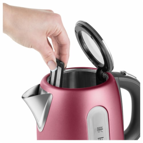 Sencor Stainless Electric Kettle - Red Perspective: back