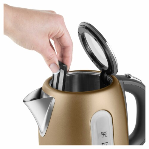 Sencor Stainless Electric Kettle - Champagne Perspective: back