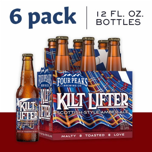 Four Peaks Brewing Kilt Lifter Scottish Style Ale Perspective: back