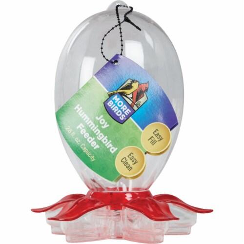More Birds Joy 28 Oz. Plastic Hummingbird Feeder 31 Perspective: back