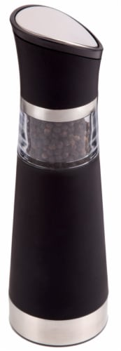 Ozeri Graviti Pro Electric Pepper Mill and Grinder, BPA-Free Perspective: back