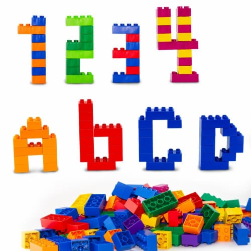 150 pcs BiOBUDDi Assorted Blocks Set Perspective: back