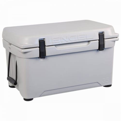 Engel 5.2 Gallon 24 Can 25 High Performance Seamless Roto Molded Cooler White