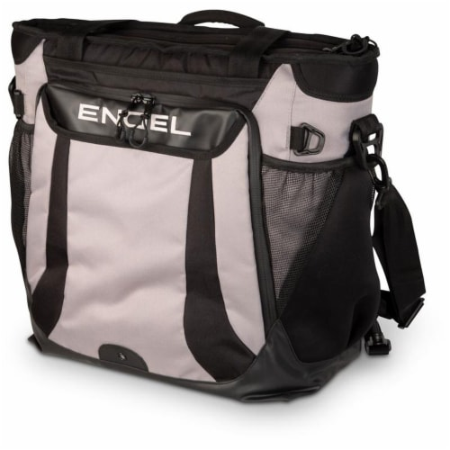 Engel ENGCB2-GRAY 23 Quart Insulated Water Resistant Backpack Cooler Bag, Grey Perspective: back