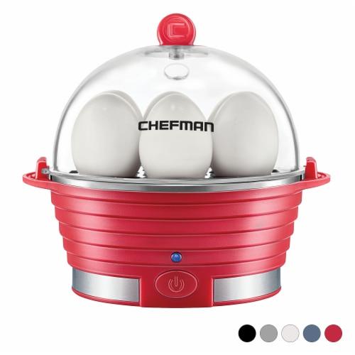 Chefman Electric Egg Cooker Boiler - Red Perspective: back