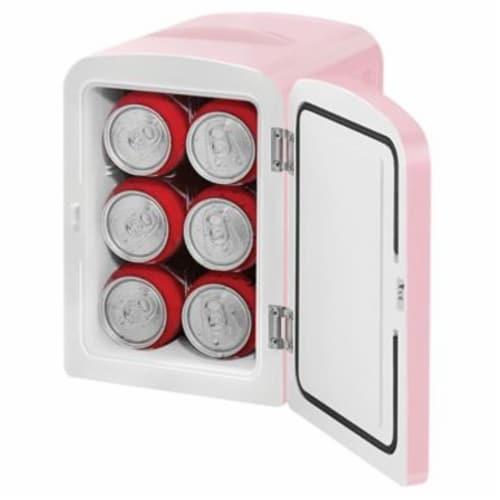 Chefman Mini Portable Personal Fridge - Pink Perspective: back
