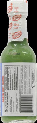 El Yucateco Green Habanero Sauce Perspective: back