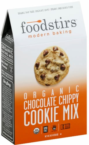 Foodstirs Organic Chocolate Chippy Cookie Mix Perspective: back