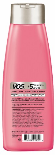 VO5 Moisture Milks Strawberries & Cream Moisturizing Shampoo Perspective: back