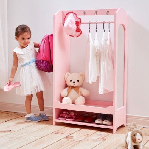Fantasy Fields - Little Princess Bella Toy Dress Up Unit - Pink TD-12234P Perspective: back