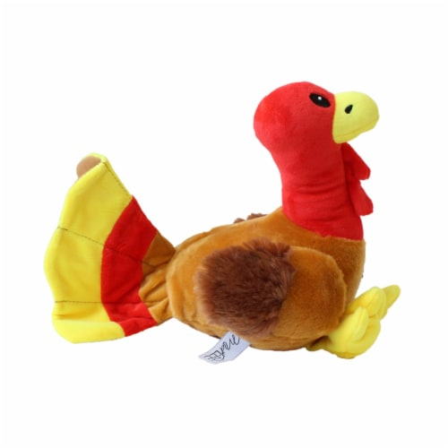 Midlee Thanksgiving Turkey Dog Toy Perspective: back