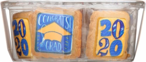 The Decorated Cookie Company Graduation Sugar Cookies Perspective: back