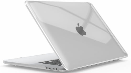 iBenzer Laptop Computer Case for MacBook Pro - Crystal Clear Perspective: back