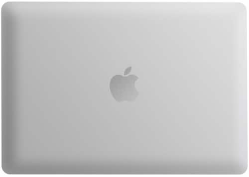 iBenzer Laptop Case for MacBook Pro Touch Bar & Non-Touch Bar - Clear Perspective: back