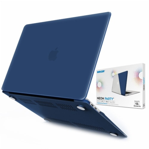 iBenzer Laptop Case for MacBook Air - Navy Blue Perspective: back