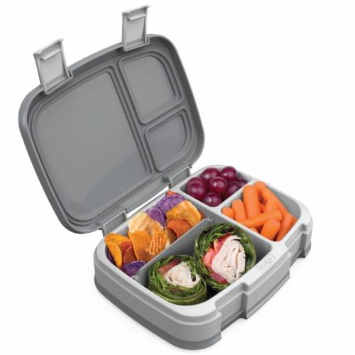 Bentgo Fresh Bento Box - Gray Perspective: back