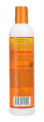 Cantu Shea Butter Moisturizing Curl Activator Cream Perspective: back