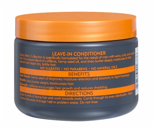 Cantu® Men's Collection Shea Butter Leave-In Conditioner Perspective: back