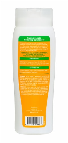 Cantu Avocado Hydrating Silicone Free Conditioner Perspective: back