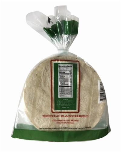 El Comal Corn Ranch Tortillas Perspective: back