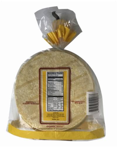 El Comal Yellow Corn Ranch Tortillas Perspective: back