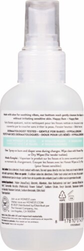 The Honest Co. Bottom Wash Soothing Perspective: back