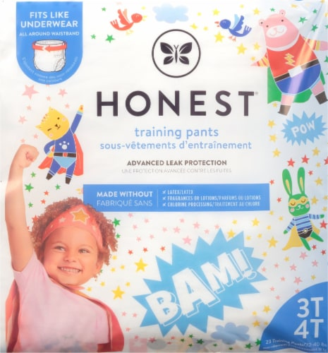 The Honest Co. Honest® Hypoallergenic 3T-4T Training Pants Perspective: back