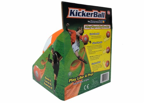 Kickerball® Curve and Swerve Soccer Ball Perspective: back