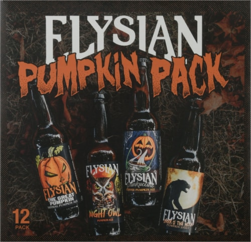 Elysian Brewing Company Pumpkin Beer Variety Pack Perspective: back