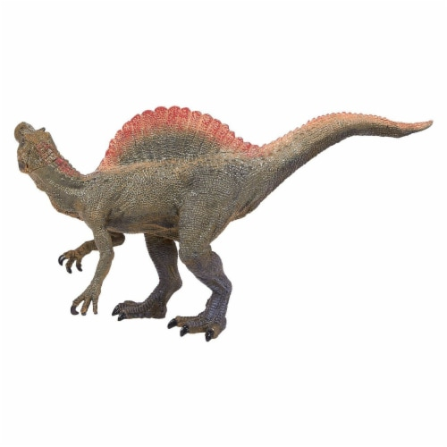 Realistic Plastic Toy Dinosaur Figure with Movable Jaw for Children Decoration Perspective: back