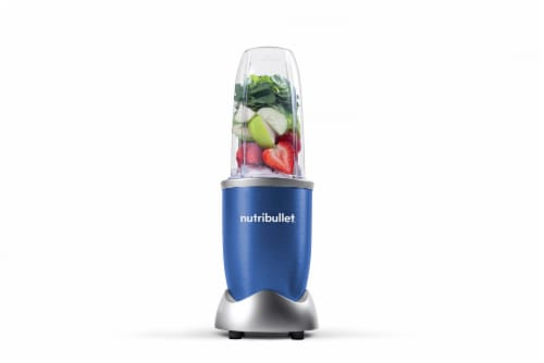 NutriBullet PRO Nutrient Extractor - Blue Perspective: back