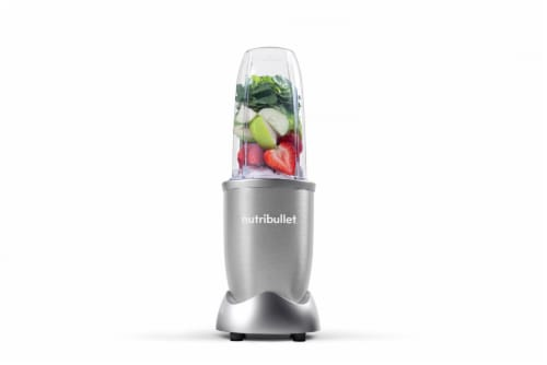 NutriBullet PRO Nutrient Extractor - Silver Perspective: back