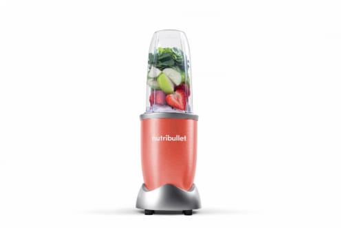 NutriBullet PRO Nutrient Extractor - Coral Perspective: back