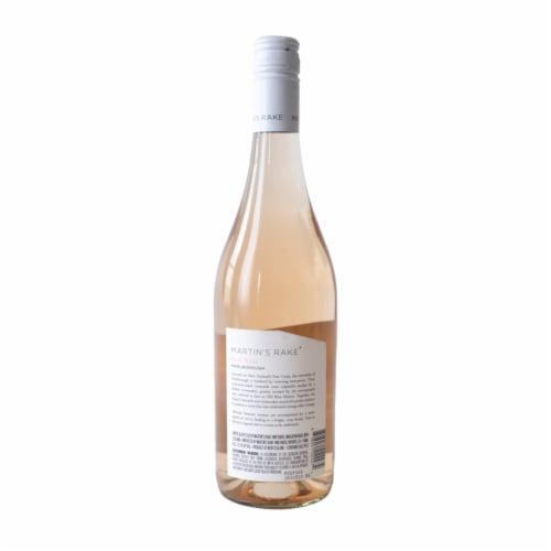 Martin's Rake Rose Wine Perspective: back