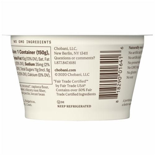 Chobani® Coconut Vanilla Non-Dairy Blend Perspective: back