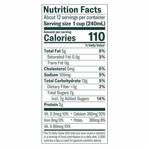 Chobani® Plain Oat Milk Perspective: back