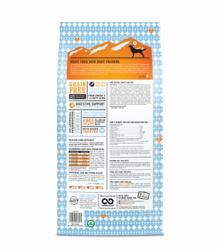 I And Love And You Naked Essentials Grain Free Chicken & Duck Adult Dog Food Perspective: back