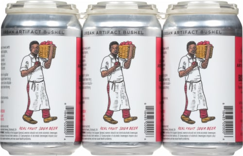 Urban Artifact Keypunch Key Lime Gose Sour Beer Perspective: back