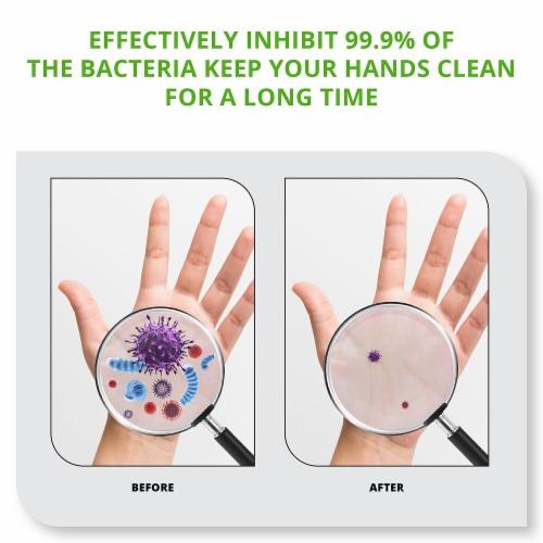 WBM Care Hand Sanitizer, 80% Alcohol-Based Liquid Sanitizer, Jasmine | Pack of 2/10.6 Oz Each Perspective: back